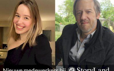 Nieuwe medewerkers bij StoryLand